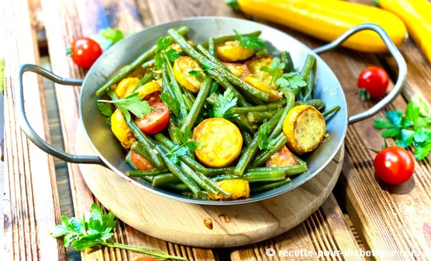 haricots verts provence