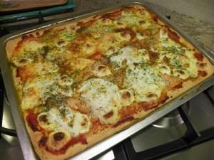 Pizza boursin saumon avec thermomix
