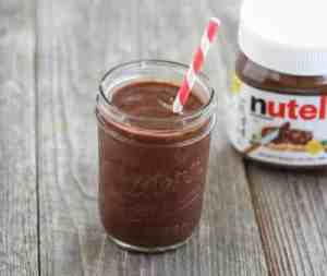 Milkshake Nutella avec thermomix