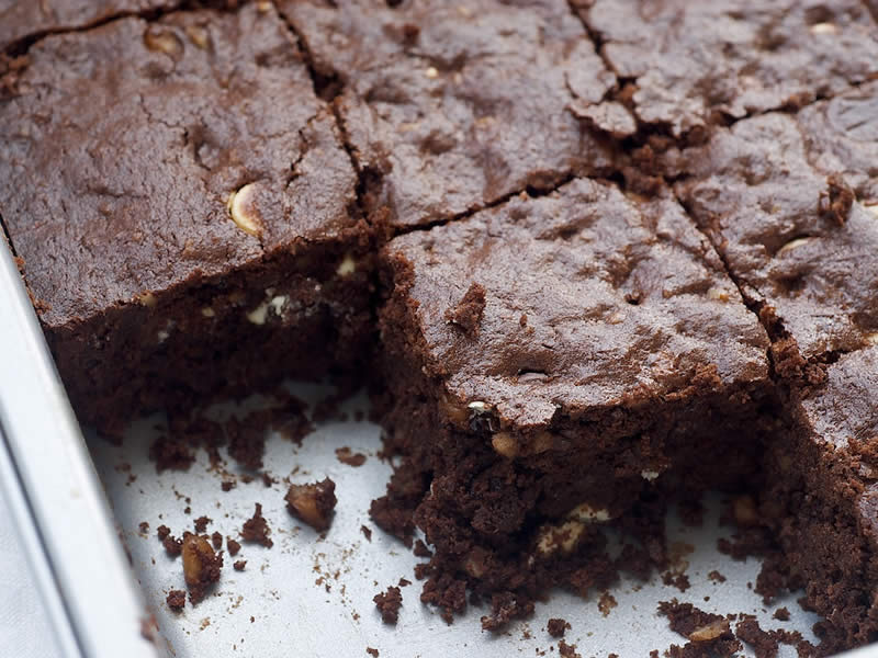 brownies au trois chocolats thermomix