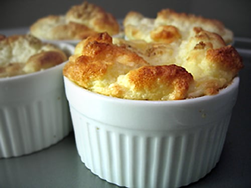 Soufflé au Fromage thermomix