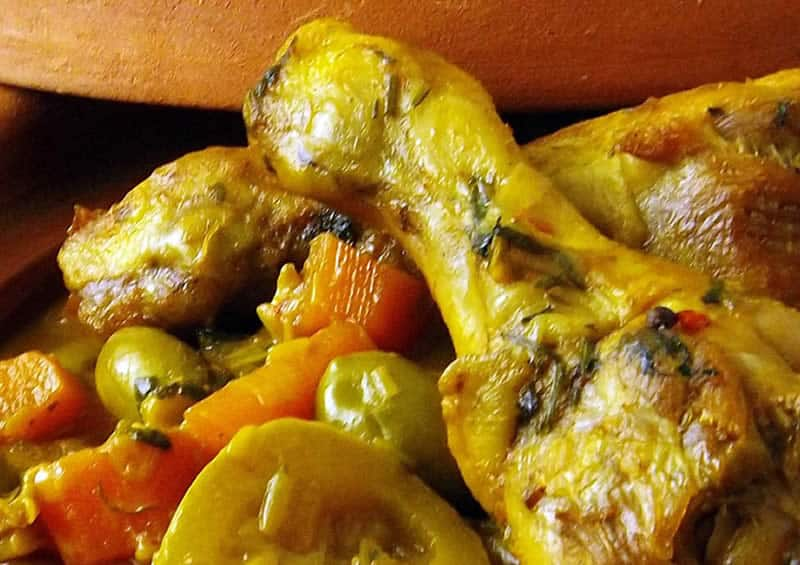 Tajine au poulet avec thermomix