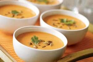 Soupe froide de carottes au cookeo