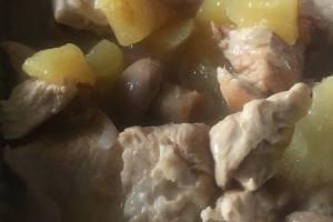 Escalope aux pommes et au cidre avec cookeo