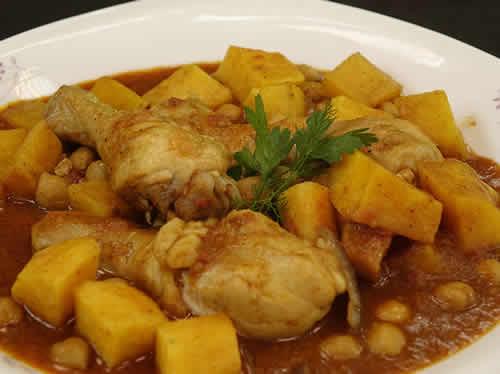 cuisses de poulet aux pommes de terre et olives avec cookeo