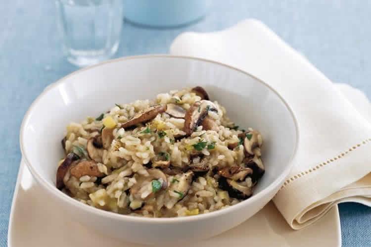 risotto champignon poireau au cookeo