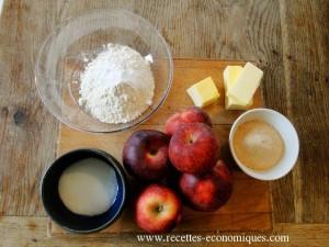 crumble pommes 4