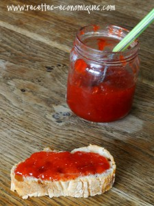 strawberry jam with thermomix
