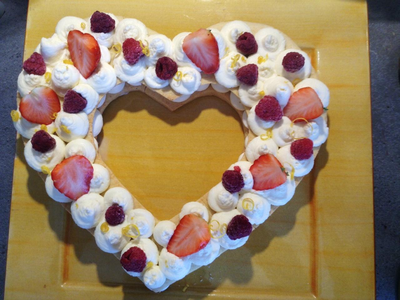 coeur cake ou number cake pour la saint valentin recettes de cuisine avec thermomix ou pas