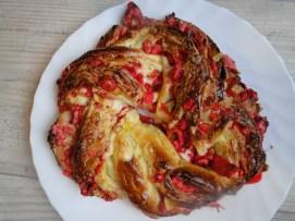 brioche tressé bakka ou kringle pralines rouge (2)