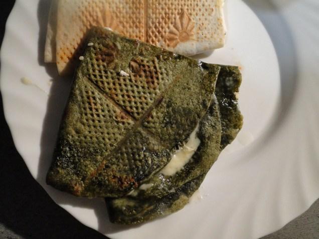version wrap vert (poudre d'ortie)
