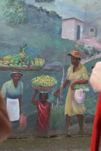 mur de l'histoire de l'esclavage à Tortola aux Iles vierges britanniques © par Fanny GRW - Recettes d'ici et d'ailleurs