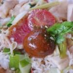 duo de poissons au curry vert et coco