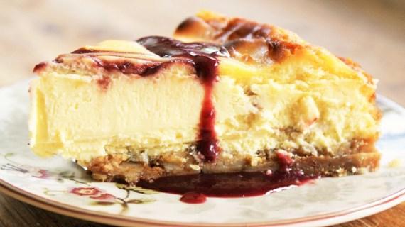 Cheesecake façon Starbucks au chocolat blanc et framboise - Cuisine américaine © Balico & co