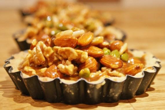 tartelettes aux fruits secs - recette automnale © Recettes d'ici et d'ailleurs