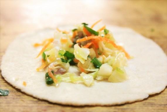 Momos tibétains, farce végétarienne - Cuisine tibétaine © Recettes d'ici et d'ailleurs