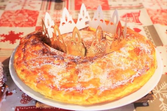 Frangipane aux pommes caramélisées et purée d'amande - © Recettes d'ici et d'ailleurs