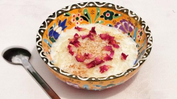 Shir Berenj ou riz au lait - Cuisine persane © Recettes d'ici et d'ailleurs