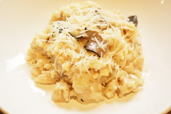 Risotto de topinambours à la truffe © Balico & coRisotto de topinambours à la truffe © Balico & co