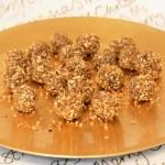 Truffes pralinoise au pralin © Balico & co