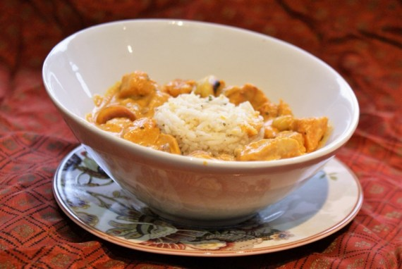 Colin Shahi Korma à la patate douce et noix de cajou © Balico & co