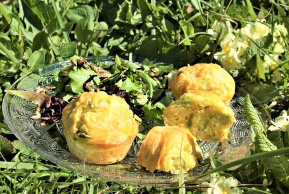 Muffins aux fèves - Recettes végétariennes © Balico & co