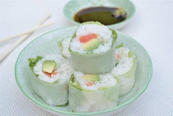 Sushis verde - Makisuchi à la salade - Cuisine japonaise © Balico & co