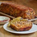 Pain de viande au bacon et aux légumes - cuisine américaine © Balico and co