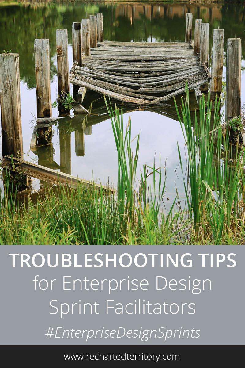 Troubleshooting tips for Enterprise Design Sprint facilitators