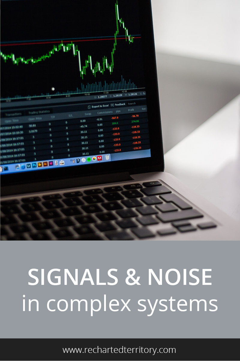 Signals and noise in complex systems