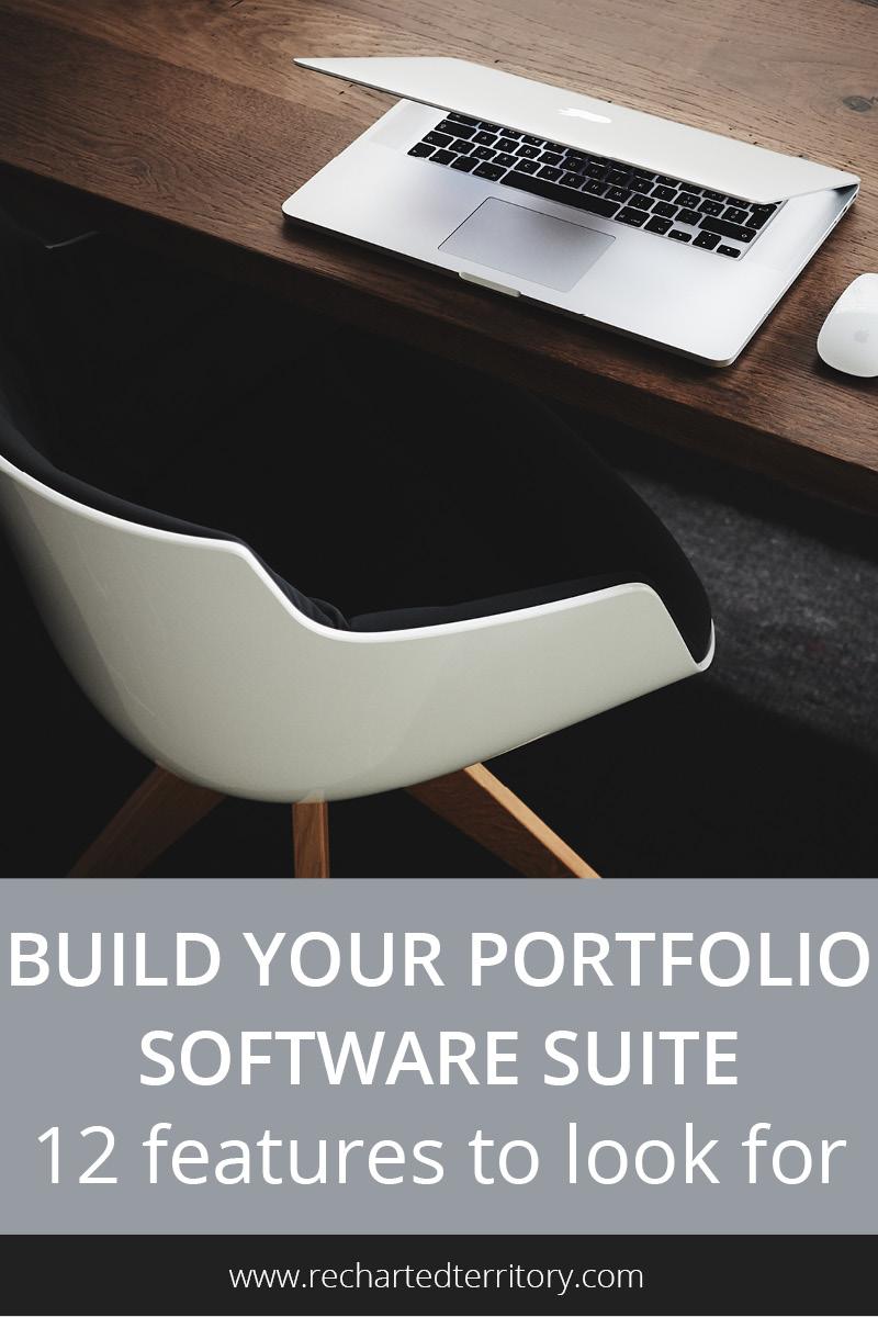 Build your portfolio management software suite