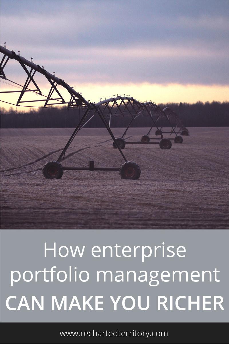 How enterprise portfolio management can make you richer