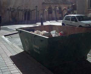 Conenedor Palencia Reciclaje y Medioambiente Residuos Admisibles