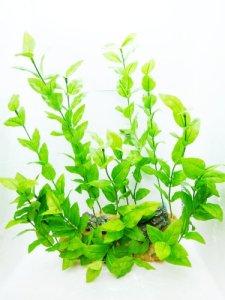 Aquarium Decor, plante artificielle sur Rock, Rotala Paysage, dimensions: largeur 33cm (33cm) 38x 38x 38cm (haute (38,1cm) superbes Détails