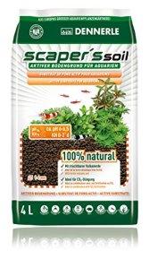 Dennerle Soil Black Color Type 1-4mm, 4 L – 3,67 kg