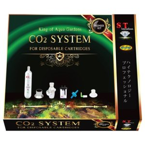 S.T. International CO2 d'alimentation Système kit de démarrage pour plantes d'aquarium