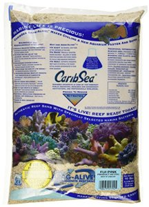 Caribsea Arag-alive Fidji Aquarium Sable, 4,5 kilogram, Rose