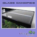 Deep Blue Professional Adb34813Standard Verre Canopy Set, 48par 33cm