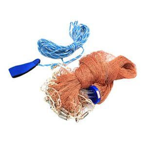 UKCOCO Cage de crevette portative pour la pêche au Homard crevette Crabe (480 en Zinc)