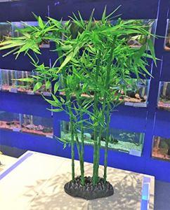 Betta Plastique Plantes d'aquarium Plant de Bambou ~ 35cm