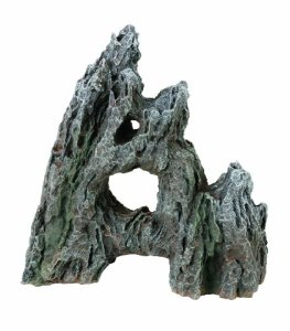 Marina Décoration pour Aquarium Rocher Naturel 3 Pièces Grand Modèle 24 cm