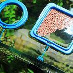 Milopon Poisson alimentation Anneau station Aquarium d'alimentation pour outils Nourriture Feeder