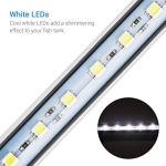 NICREW Lampe Tube Submersible pour Aquarium, LED Lampe étanche Lumière Blanche Eclairage Aquarium LED (18cm 2W)