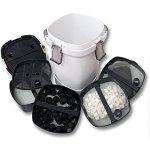 SunSun HW-505A Aquarium Bio Filtre extérieur 1000l/h 4-Phases Matériaux et Pompe