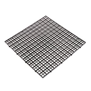 Dabixx Aquarium Isolation intercalaire filtre Patition Tableau Net intercalaire support kit Ventouse, Plastique, Noir, 30 x 30 cm