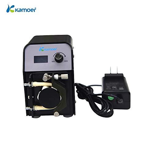 Kamoer FX-STP Pompe péristaltique (Pompe à réacteur de Calcium, Tube BPT 3,2 mm x 6,4 mm, 6 Rouleaux)