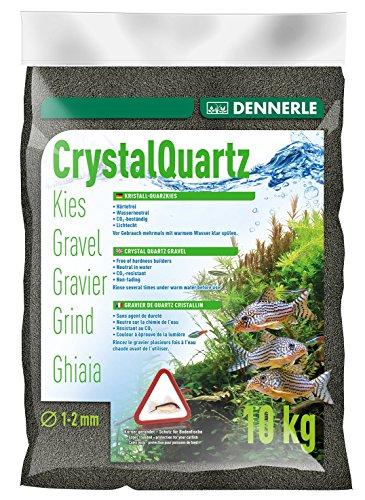 Dennerle Gravier quartz noir diamant (1 à 2 mm), 10 kg