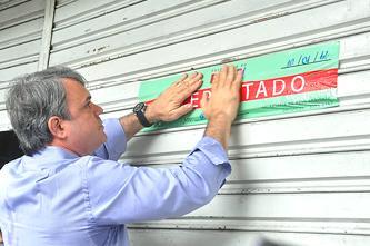 Ação foi acompanhada pelo secretário Marcelo Rodrigues