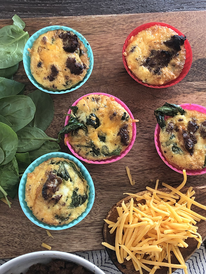 Air Fryer Egg Cups Keto and Low Carb