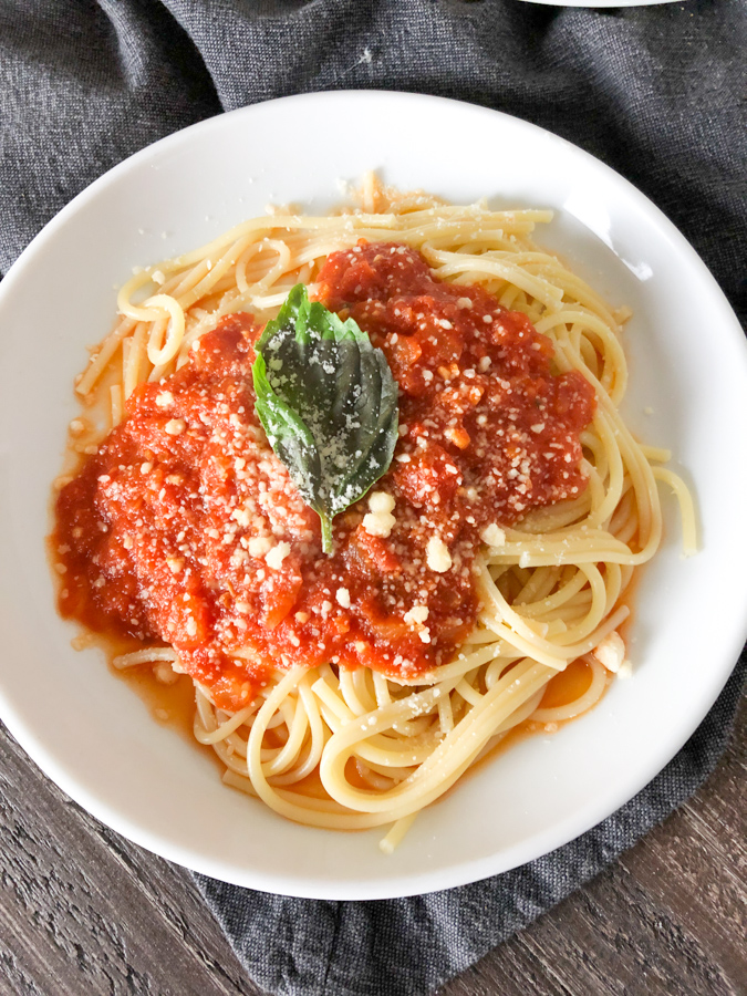 Basic Marinara Sauce Recipe